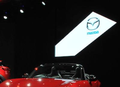 マツダ、4代目新型「ロードスター」と、日本初公開の新型コンパクトSUV「CX-3」を披露 - 東京オートサロン2015
