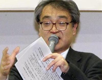 元朝日新聞記者、植村隆氏(56)、講演会にて「私は捏造記者ではない」とまた捏造 … 集まったプロ市民らを前に「不当なバッシングには屈しない」と訴える