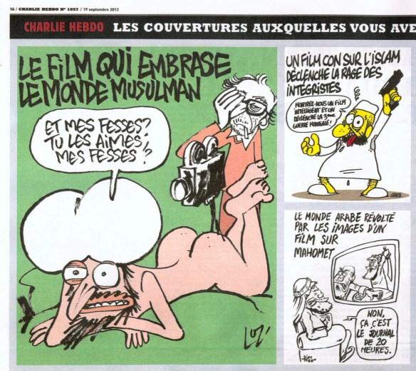 【画像あり】イスラムに襲撃された新聞社の風刺画が酷すぎてワロタwwwwwwwwwwwwwww