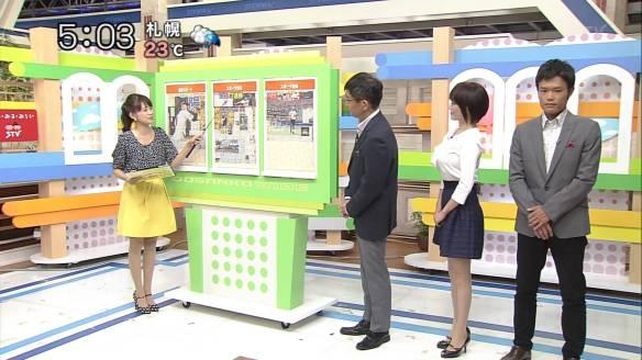 【画像あり】北海道のアナウンサーのオッパイでかすぎwwwwwwwwwwwwwww