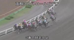 【競馬】 菱田騎手、落馬事故で脳挫傷の疑い