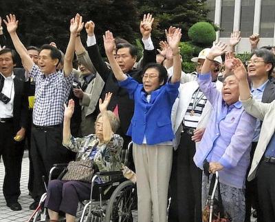 韓国人元徴用工に対する請求権訴訟、三菱重工が韓国高裁でも敗訴 … 女子挺身隊として三菱・名古屋工場で働いていた韓国人5人に対し1億~1億2千万ウォンの支払い命令、三菱は上告