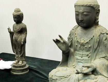 韓国が対馬・海神神社から盗んだ仏像『銅造如来立像』の返還を決定 … 韓国ネット「日本が盗んだのにそれをまた日本に返すのか?」「他の国だったら法律を変えてでも返さないのに」