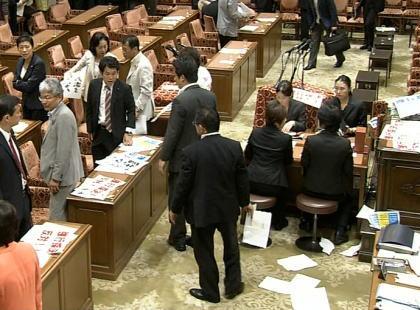 長谷川幸洋氏「選挙では国民に投票を呼びかけながら採決を拒否した野党議員は国会議員である資格がない。採決に応じないなら辞職すべき。国民の代理人たる役割を果たしていないからだ」