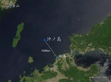 2017年の世界遺産登録に、福岡県の「宗像・沖ノ島と関連遺産群」など4件が選考対象に