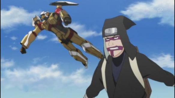 【画像】NARUTOのアニメ、最早意味不明なことになっててワロタ