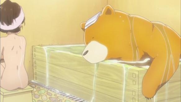 【朗報】くまみこ最新話で湯気なし風呂シーンwwwwww