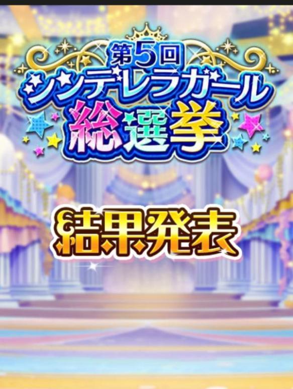 第5回シンデレラガール総選挙の結果発表キタ━━━━(゚∀゚)━━━━!!