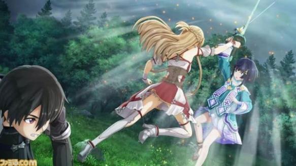 【画像】SAOのアスナが小さな女の子を剣で攻撃してイジメてる…