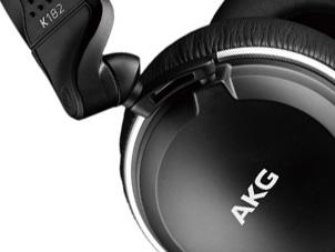 AKGの密閉モニターヘッドホンK182買ってみた