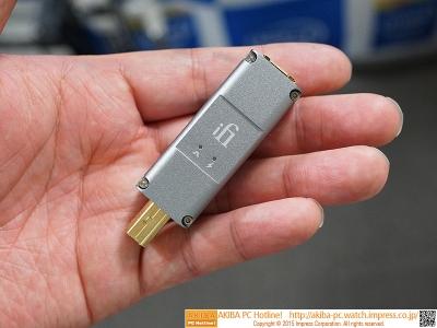 ピュアオーディオ用USBアダプタ「iPurifier2」2万円 仏軍戦闘機の技術でノイズ除去能力20倍、ジッタ除去