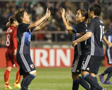 女子サッカー・リオ五輪アジア最終予選、なでしこジャパンがベトナムに6-1と大勝、4戦目にして初勝利