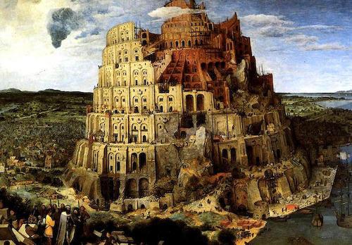 それぞれが、それぞれの言葉をしゃべる。通じ合うことなき「バベルの塔」の世界。ブリューゲルの名画来日へ。