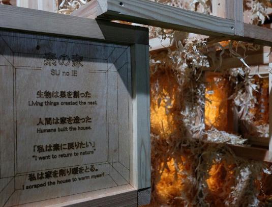 木製ジャングルジム おがくず かんなくず ジャングルジム 東京デザインウィーク2016 日本工業大学 新建築デザイン研究会 現代アート 明治神宮外苑 ゆとり