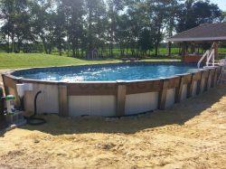 Small Of Semi Inground Pools