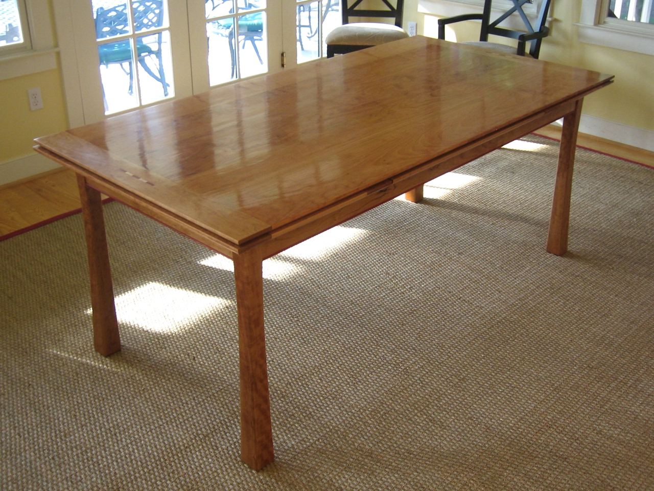 7s0qr9eRK7siF5rMoMHQ Dutch Pull Out Dining Table by Joseph Murphy Furniture Maker at CustomMade.com