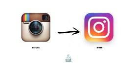 restyling Instagram Logo
