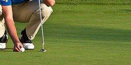 Golf putting grip
