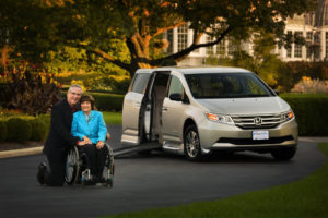 side entry wheelchair van