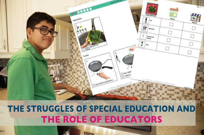 THE STRUGGLES OF SPECIAL EDUCATION AND THE ROLES OF EDUCATORS.