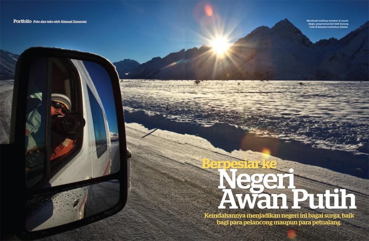 Tear Sheet : National Geographic Traveler Indonesia, Oktober 2012