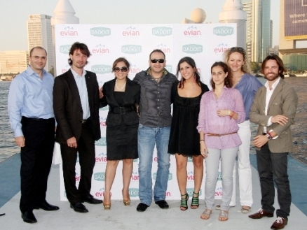 EVIAN Team and Aiisha Ramadan