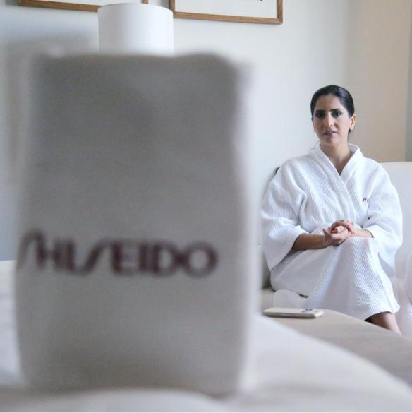 A day with Shiseido