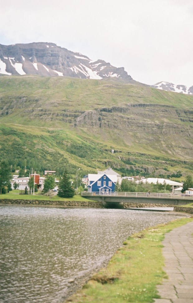 Seyðisfjörður-- the cutest town in Iceland. Where the ferry from Europe comes in
