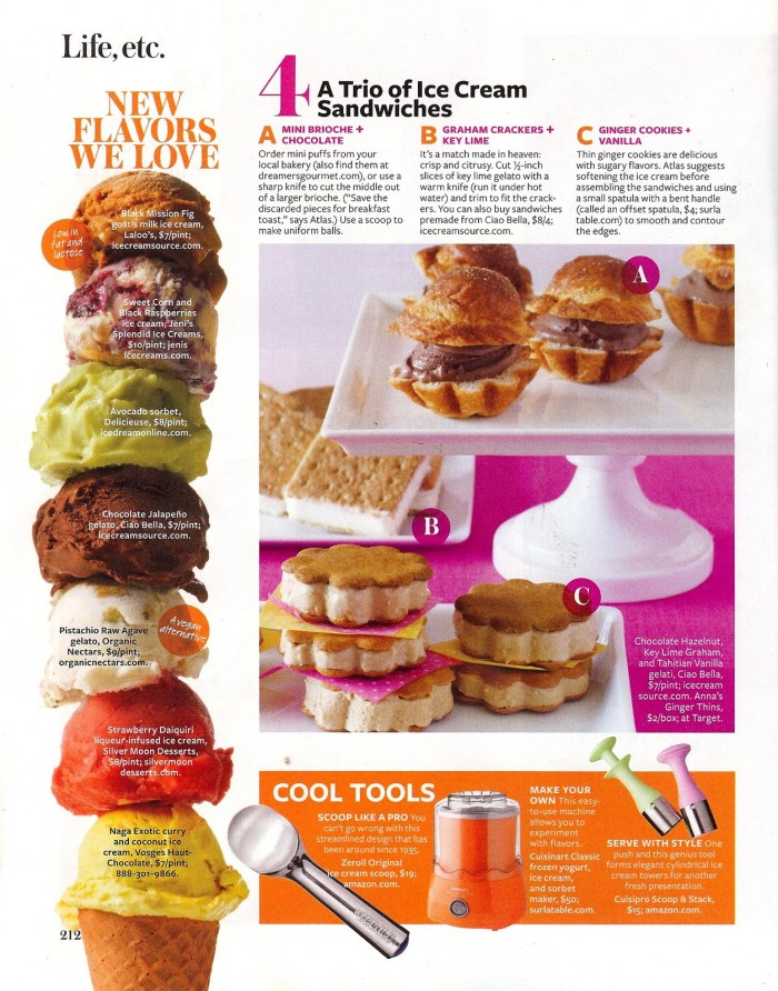 AmyAtlasIceCream4 700x892 Our Ice Cream Story for InStyle Magazine