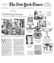 Shopping for Dessert Platters with The New York Times