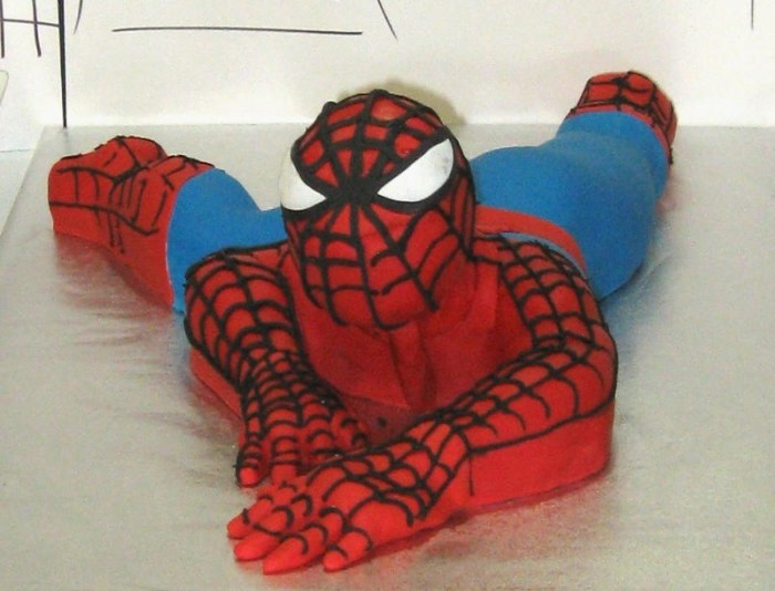 cake 1 700x534 Spiderman Guest Dessert Feature