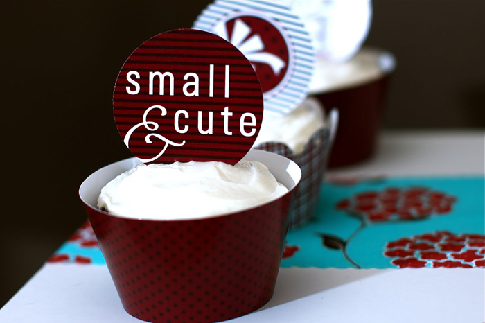 Our Gift Baby Shower Red Velvet Beet Cupcake Sweet Baby Shower Guest Dessert Feature