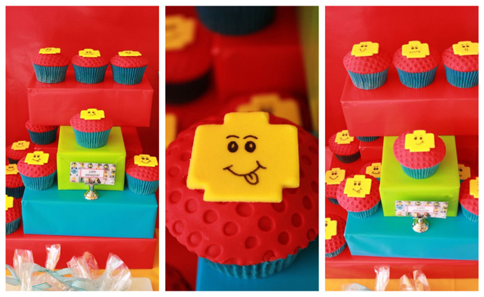 Cupcakes Lego Inspired Guest Dessert Feature
