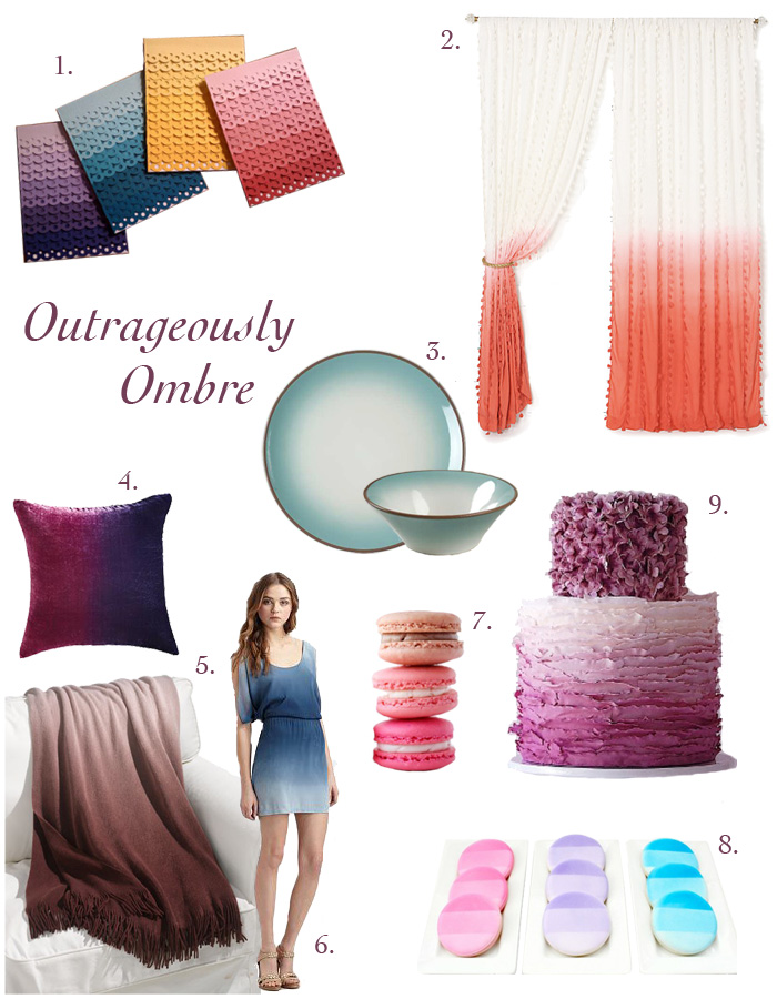 ombre board Outrageously Ombre!