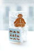 Great Finds: Yoga Gingerbread Cookies {& Giveaway}
