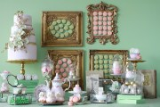 Laduree Inspired Guest Dessert Feature