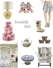 Pattern Study: Tastefully Toile