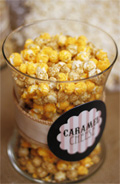 Popcorn Party Guest Dessert Feature