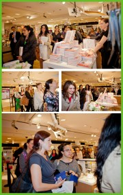 Behind The Scenes: Bloomingdales Sweet Designs Book Signing