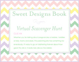 Sweet Designs Virtual Scavenger Hunt: Clue #4
