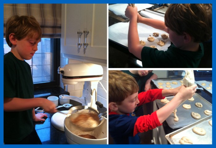 baking4 700x481 Baking with the Boys and Pride in the Creative Process