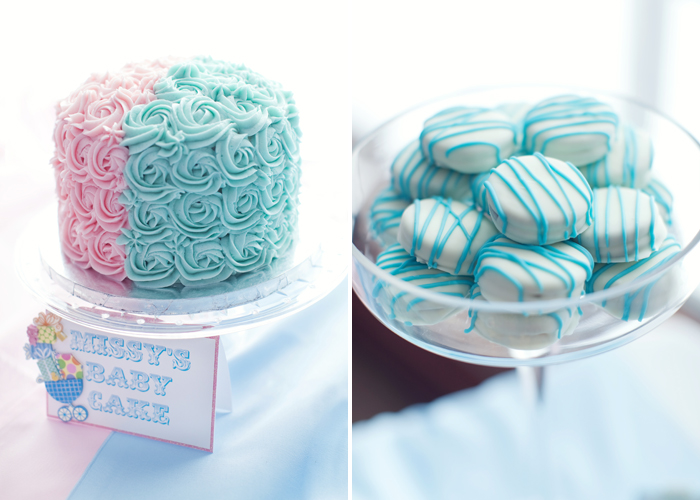 gendereveal2 Pink And Blue Baby Shower Guest Dessert Feature
