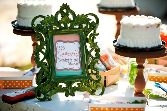 Disney Cinderella Inspired Birthday Party and Dessert Table for Girls