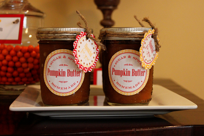 Thanksgiving Party Dessert Favors
