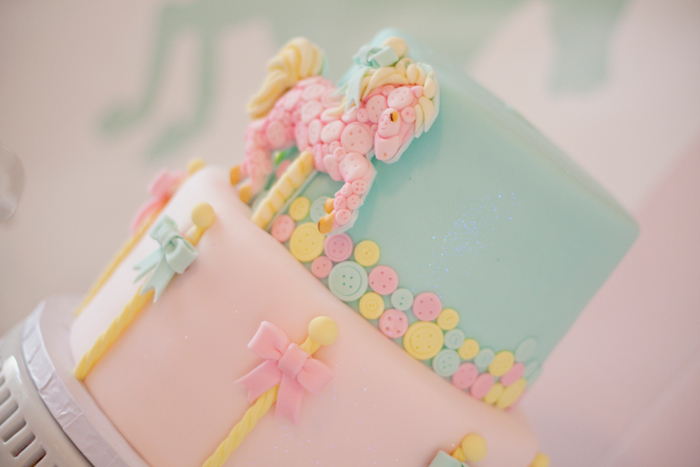 Carousel Pastel Girls Party Pretty Cake