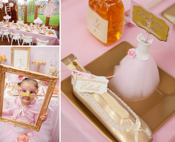Pink Ballerina Party for girls
