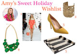 Amy's Sweet Holiday Wish List