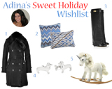 Adina's Sweet Holiday Wishlist