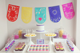 Mexican Papel Picado Crafternoon Guest Dessert Feature
