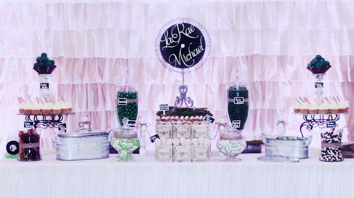 Engagement Party Wedding Dessert Table